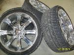 Lot: V126 - (4) Tires & wheels