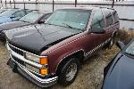 Lot: 21-143163 - 1997 Chevrolet Tahoe SUV