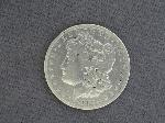 Lot: 497 - 1892-CC MORGAN DOLLAR