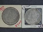 Lot: 513 - (2) 1892-CC MORGAN DOLLARS