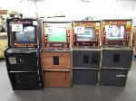 Lot: 83 - (4) Gaming Machines<BR><span style=color:red>THIS IS A RESTRICTED AUCTION</span>