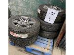 Lot: 508 - (5) DODGE TIRE ASSEMBIES