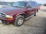 Lot: 17-184976 - 2002 DODGE DURANGO SLT SUV