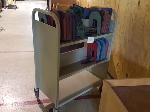 Lot: 7,8&9-FURN - Library Furniture: Cart, Display, Chairs, Racks
