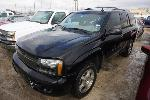Lot: 07-58299 - 2007 Chevrolet Trailblazer SUV - Key / Runs & Drives