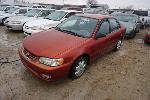Lot: 28-58481 - 2001 Toyota Corolla - Key / Runs & Drives