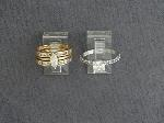 Lot: 559 - RING & 14K WEDDING SET