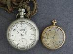 Lot: 560 - WALTHAM & HAMPDEN POCKET WATCHES