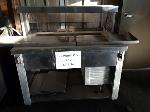 Lot: CN-945 - STAINLESS STEEL SERVING LINE
