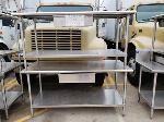 Lot: CN-953 - (3) STAINLESS STEEL TABLES