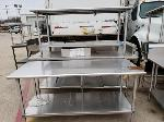Lot: CN-956 - (3) STAINLESS STEEL TABLES