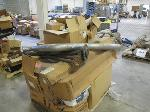 Lot: 512 - PALLET OF TAIL PIPE, AXLES, MUFFLER & PARTS