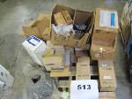 Lot: 513 - PALLET OF BRAKE DRUMS, SHOES & PARTS