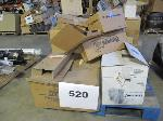Lot: 520 - PALLET OF FAN CLUTCHES, FILTERS