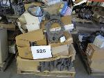 Lot: 525 - PALLET OF AUTO PARTS, GASKETS, ROTOR