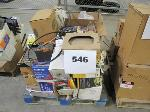 Lot: 546 - PALLET OF AUTO PARTS: WATER PUMP, FILTER