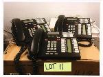 Lot: 11.SHA - (Approx 10) Nortel Phones