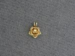 Lot: 6650 - 14K ROSE PENDANT