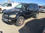 Lot: 02-373112 - 2003 MERCEDES-BENZ ML320 SUV