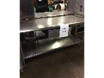 Lot: 6091 - Stainless Steel Table