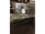 Lot: 6092 - Stainless Steel Table