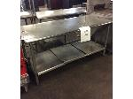 Lot: 6100 - Stainless Steel Table