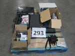 Lot: 293 - VHS/DVD player, Switch Boxes, TSI Meter, GPS Units