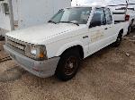 Lot: 02-21618 - 1987 Mazda B2200 Pickup  - Key / Starts & Runs