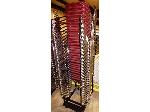 Lot: 02-21662 - (28) Stacking Chairs on Rolling Dolly