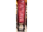 Lot: 02-21668 - (27) Stacking Chairs on Rolling Dolly