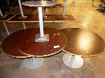Lot: 02-21687 - (3) Round Tables