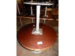 Lot: 02-21689 - (2) Round Tables