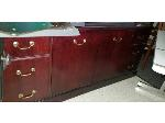 Lot: 3.BE - CREDENZA, (6) CHAIRS & TABLE