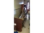 Lot: 8.BE - HOSPITAL BED & BOOKCASE