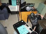 Lot: 32.SP - (2) COUCHES, IRONING BOARD, MICROWAVES, TOASTERS