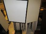 Lot: 37.SP - OVERHEAD CABINETS, SIGNS, MICROWAVE