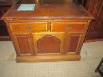 Lot: 42.SP - BUFFET TABLE & CABINET