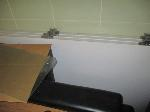 Lot: 44.SP - JUDGES BOX, PROJECTOR SCREEN, GLASS TOP, WHITE BOARDS