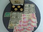 Lot: 571 - FOREIGN CURRENCY, SILVER CERTS., TOKENS & MEDALS