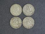 Lot: 578 - FRANKLIN HALVES