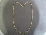 Lot: 595 - 14K NECKLACE