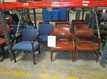Lot: C12/L&C12/U  - (6) Chairs & (2) Sofas