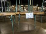 Lot: 412 - (4) ROUND TABLES