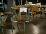 Lot: 413 - (4) ROUND TABLES