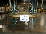 Lot: 414 - (4) TRAPEZOID TABLES