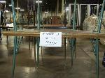 Lot: 415 - (4) TRAPEZOID TABLES