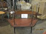 Lot: 416 - (4) TRAPEZOID TABLES