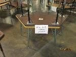 Lot: 417 - (4) TRAPEZOID TABLES