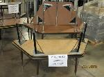 Lot: 418 - (5) TRAPEZOID TABLES