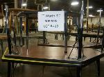 Lot: 419 - (5) TRAPEZOID TABLES
